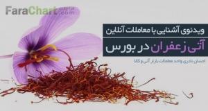 ویدئوی آشنایی با معاملات آنلاین زعفران با احسان نادری