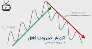 آموزش ترسیم خط روند و کانال با محسن اسلامی