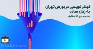 فیلتر نویسی در بورس تهران به زبان ساده توسط روح الله دهنوی